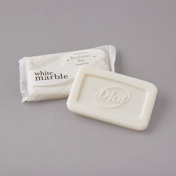 Dial Dw00194a White Marble Deodorant Soap 0 81 Oz 500 Case