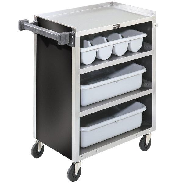 "Vollrath 97180 4 Shelf Bussing Cart - 27 1/2"" x 15 1/2"" x 34"" Main Image 1"