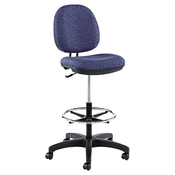 Alera ALEIN4621 Interval Series Marine Blue Swivel Task Stool Main Image 1
