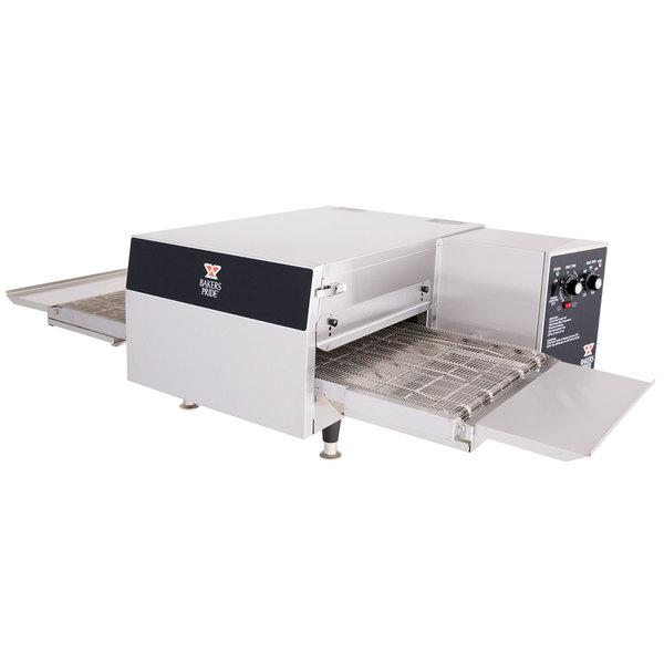"Bakers Pride ICO-1848-NC 18"" Single Belt Electric Conveyor Oven - 240V, 1 Phase, 6600W Main Image 1"