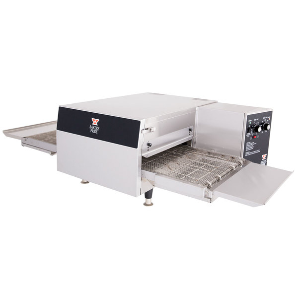 "Bakers Pride ICO-1848 18"" Ventless Single Belt Electric Conveyor Oven - 208V, 3 Phase, 6600W Main Image 1"