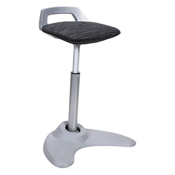 Alera Aleae36psbk Black Sit To Stand Perch Stool With