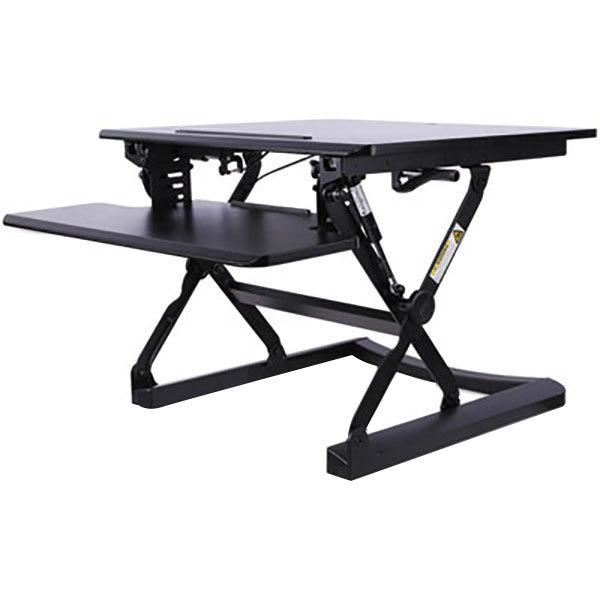 "Alera ALEAEWR1B AdaptivErgo WorkRise Adjustable Stand Up Desk - 26 3/4"" x 31"" Main Image 1"