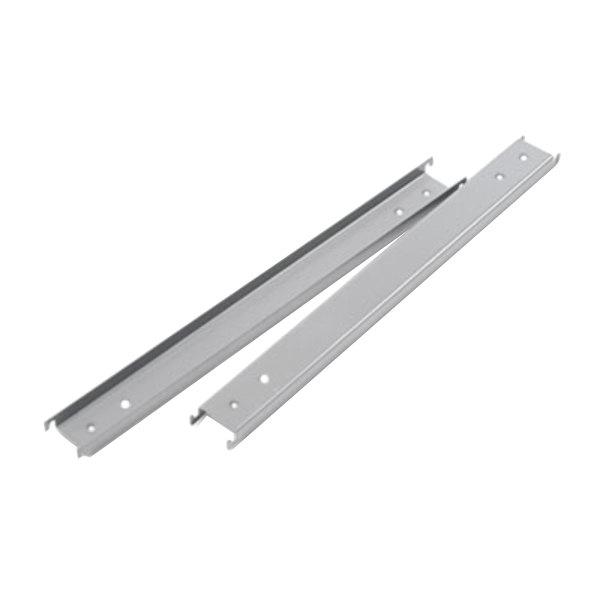 "Alera ALELF42 Aluminum Three Row Hangrails for 42"" Files - 2/Pack"