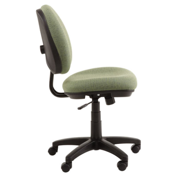 alera alein4871 interval parrot green fabric office chair with