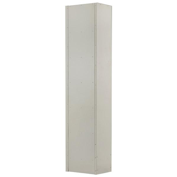 Winholt Wl 66 18 Single Column Six Door Steel Locker With Perforated Doors 12 X 18 X 78