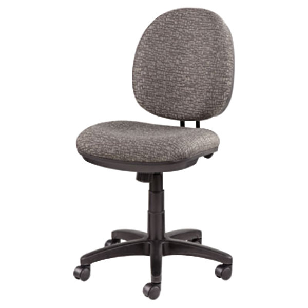 Gray Fabric Office Chair with Black Swivel Nylon Base  Main Picture   Image Preview  Image Preview  Alera ALEIN4841 Interval Graphite Gray Fabric Office Chair with  . Grey Fabric Office Chair. Home Design Ideas