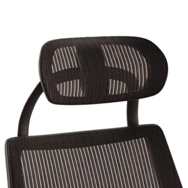 Alera ALEKEHR18 K8 Series Black Mesh Chair Headrest
