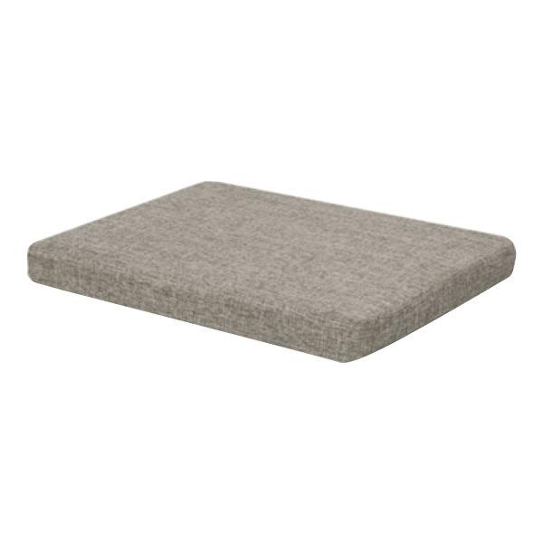 "Alera ALEPC1551 14 7/8"" x 19 1/8"" x 2 1/8"" Tan Quartz Pedestal File Seat Cushion"