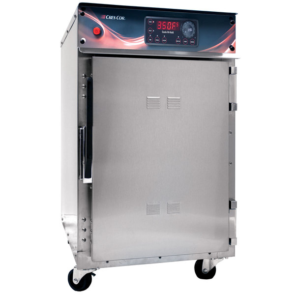 Cres Cor 500CHSSDX Undercounter Stainless Steel Cook and Hold Oven with Deluxe Controls - 120V, 2000W Main Image 1