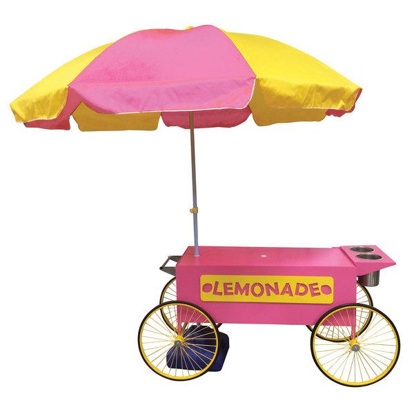 Paragon 3090090 Lemonade Wagon with Umbrella Main Image 1
