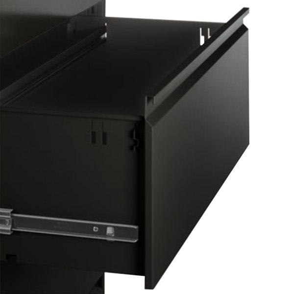 Alera ALELF4254BL Black Four-Drawer Metal Lateral File Cabinet ...