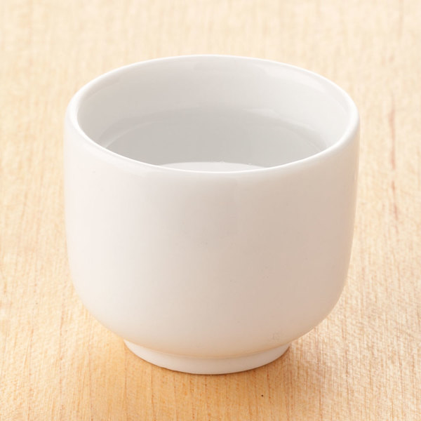 Town 51401 1.5 oz. Ceramic Sake Cup - 12/Pack Main Image 1
