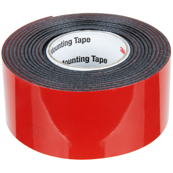 "Holds 5 lb. Heavy-Duty Exterior Parmanet Outdoor Mounting Tape 1/""x60/"""