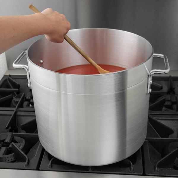 Large Choice stock pot with sauce inside