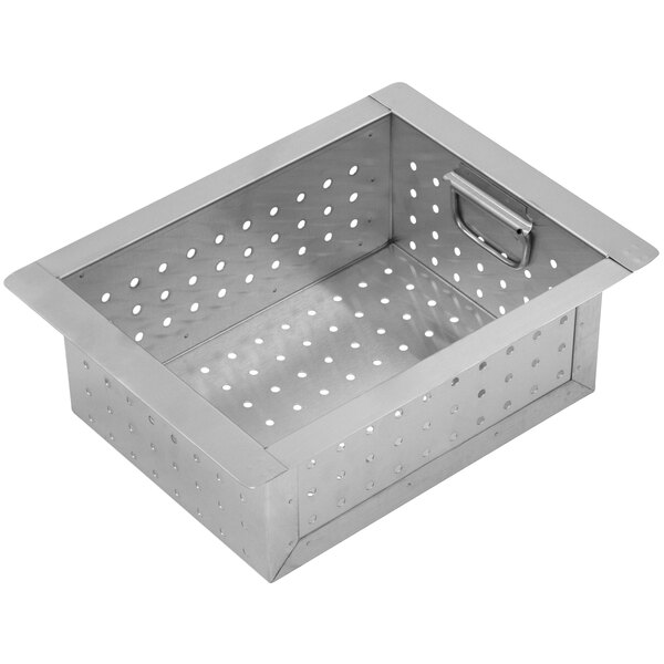 """Advance Tabco A-16 Perforated Sink Basket for 10"""" x 14"""" x 10"""" Bowls Main Image 1"""