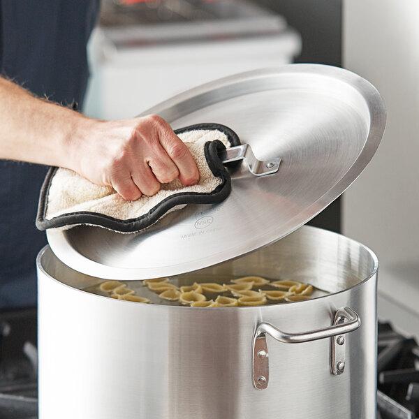 """Choice 14 3/4"""" Aluminum Pot / Pan Cover Main Image 2"""