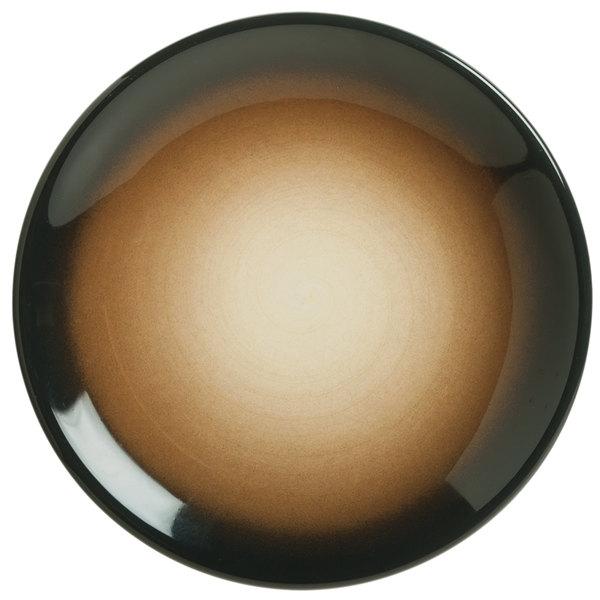 "World Tableware PEB-1-T Pebblebrook 6"" Tiger Porcelain Coupe Plate - 24/Case"