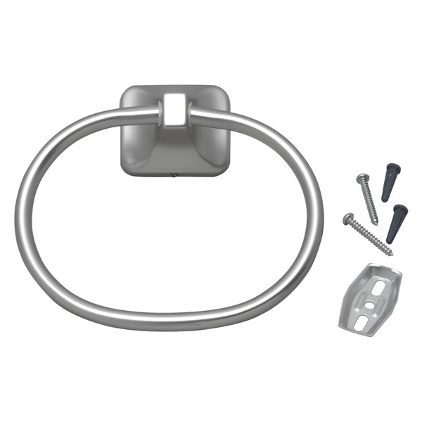 Advance Tabco A-15 Towel Ring with Chrome Finish Main Image 1