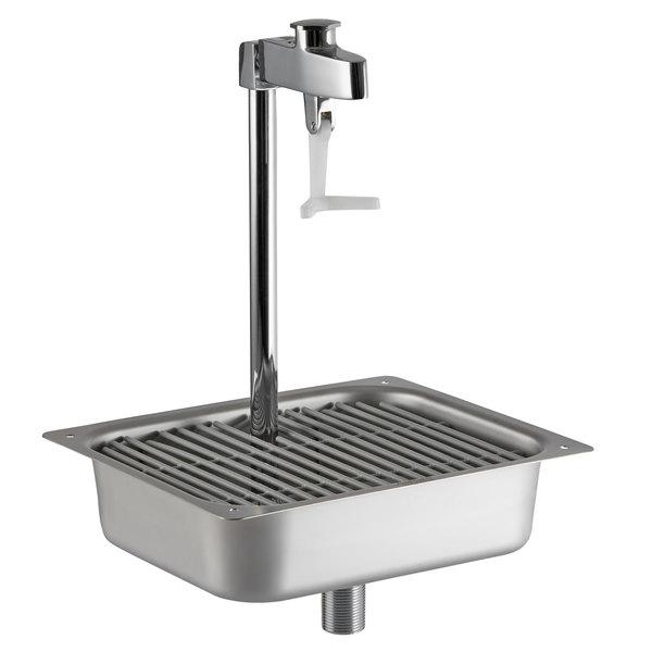 Fisher 54186 10 Stainless Steel Pedestal Glass Filler