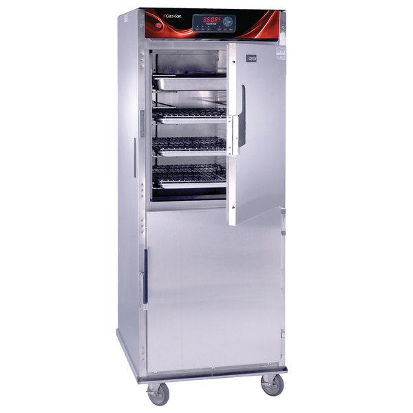 Cres Cor CO-151-FUA-12DE Full Height Roast-N-Hold Convection Oven with Standard Controls and Universal Angles - 240V, 1 Phase, 8000W