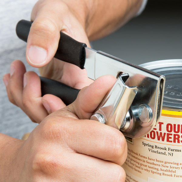 Swing-A-Way Portable Can Opener with Black Handle