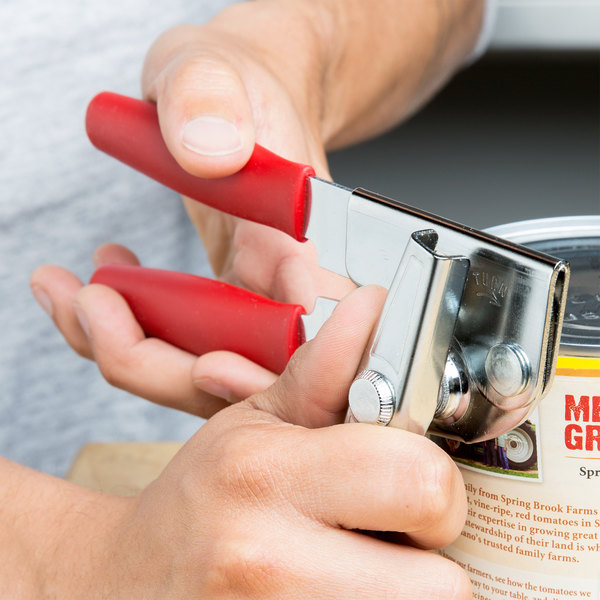 Swing-A-Way Portable Can Opener with Red Handle