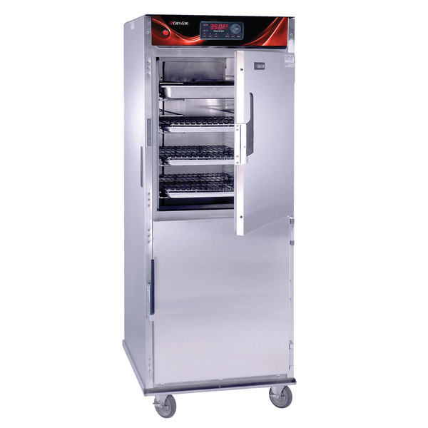 Cres Cor CO151FUA12DX Full Height Roast-N-Hold Convection Oven with Deluxe Controls and Universal Angles - 240V, 3 Phase, 8000W Main Image 1