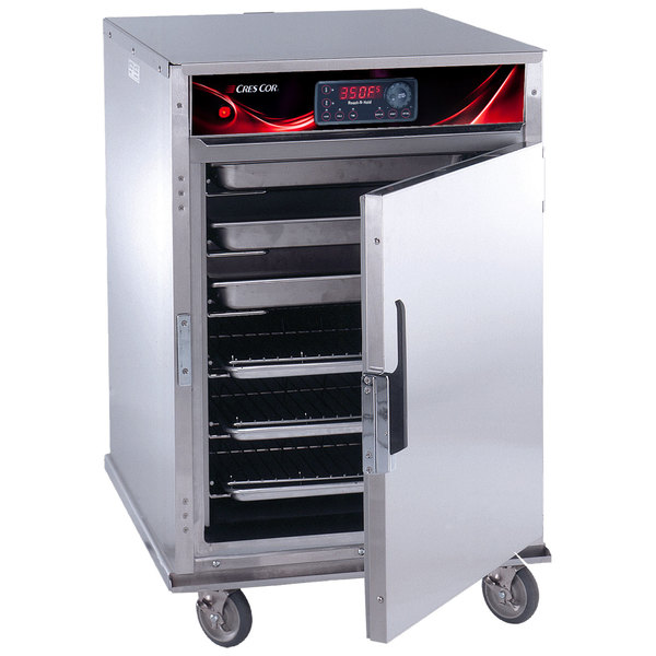 Cres Cor CO-151-HUA-6DX Half Height Roast-N-Hold Convection Oven with Deluxe Controls and Universal Angles - 240V, 1 Phase, 4700W