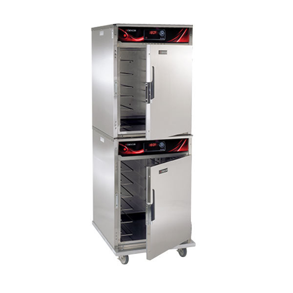 Cres Cor CO151HUA6DESTK Full Height Roast-N-Hold Convection Oven with Standard Controls and Universal Angles - 208V, 1 Phase, 4700W Main Image 1