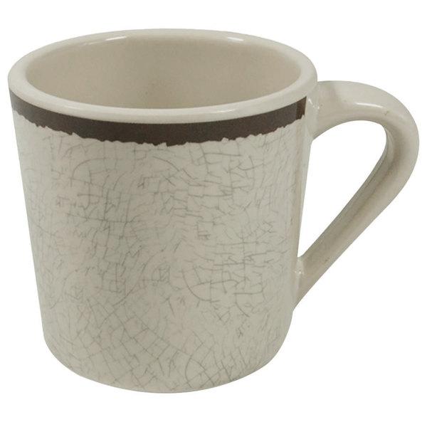 Elite Global Solutions DC Mojave Vintage California 10 oz  Vanilla Mug -  6/Case