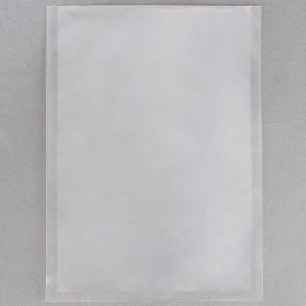 """ARY VacMaster 30723 8"""" x 12"""" Chamber Vacuum Packaging Pouches / Bags 3 Mil - 1000/Case"""
