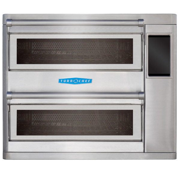 TurboChef HHD95001 Double Batch Ventless High Speed Countertop Oven - 1.18 Cu. Ft. - 208/240V, 10,720W / 12,480W