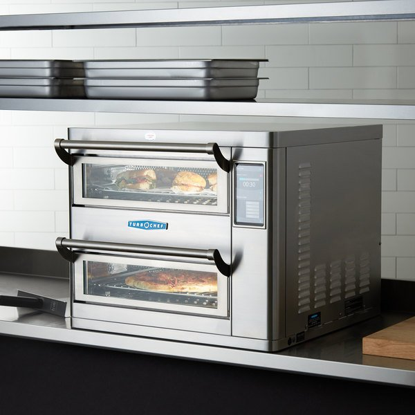 TurboChef HHD95001 Double Batch Ventless High Speed Countertop Oven - 1.18 Cu. Ft. - 208/240V, 10,720W / 12,480W Main Image 6