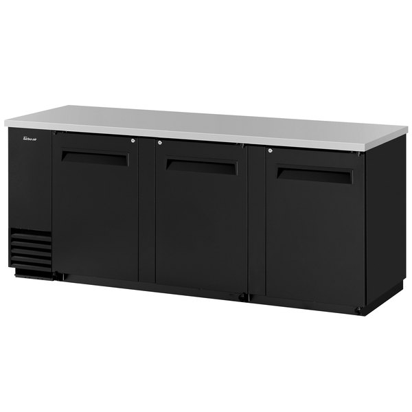 "Turbo Air TBB-4SB 90"" Solid Door Back Bar Refrigerator"