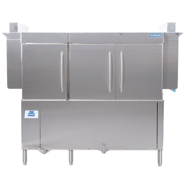 Jackson RackStar 66 Single Tank Low Temperature Conveyor Dish Machine - Left to Right - 230V, 3 Phase