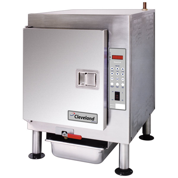 Cleveland 1SCE SteamCub Plus 5 Pan Electric Countertop Steamer - 240V, 3 Phase, 12 kW