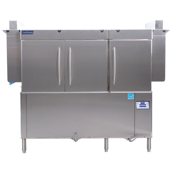 Jackson RackStar 66 Single Tank High Temperature Conveyor Dish Machine - Left to Right - 230V, 3 Phase