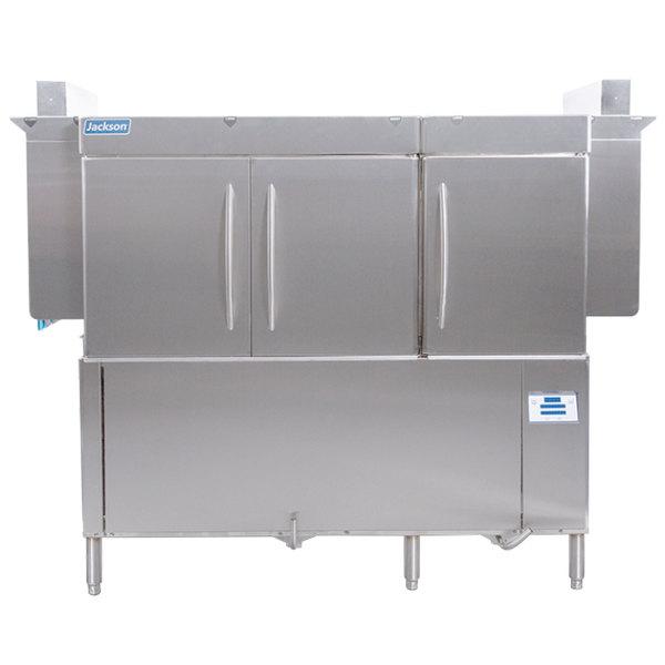 Jackson RackStar 66 Single Tank Low Temperature Conveyor Dish Machine - Right to Left - 230V, 3 Phase