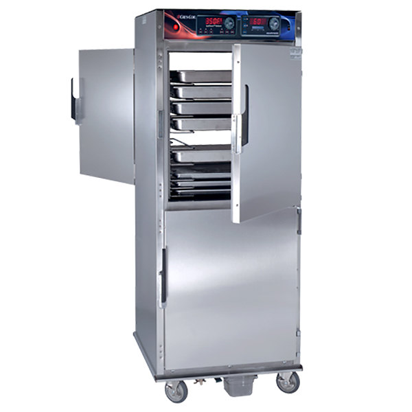 Cres Cor RO-151-FPWUA-18DE Pass-Through Quiktherm Rethermalization Oven with Standard Controls and AquaTemp System - 240V, 3 Phase, 8kW