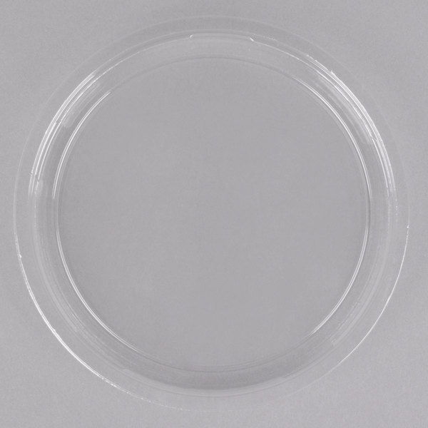 Dart Solo SCCLG8R Bare Recessed Recycled Deli Container Lid - 500/Case