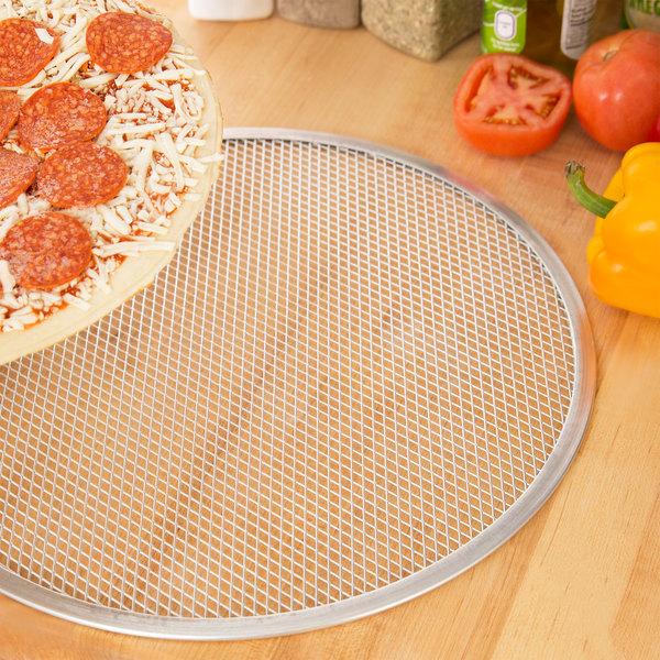 """15"""" Aluminum Pizza Screen Main Image 3"""