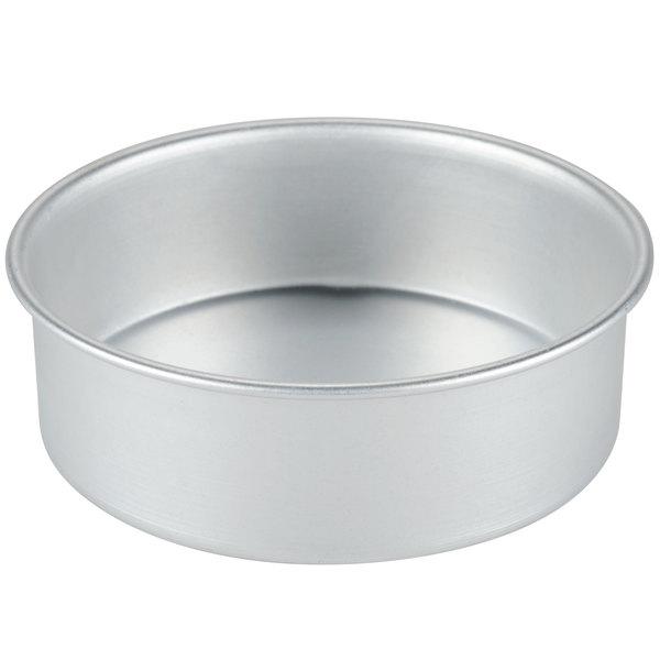 6 x 2 round aluminum small cake pan deep dish pizza pan. Black Bedroom Furniture Sets. Home Design Ideas