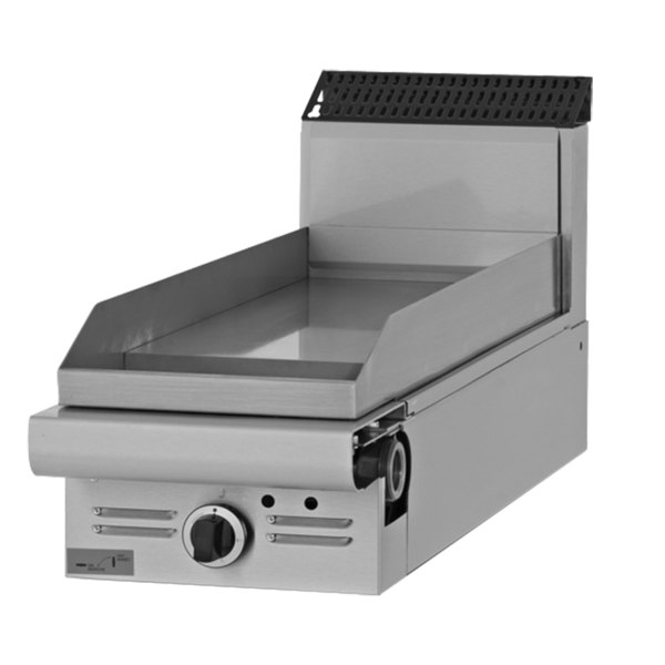 "Garland M12T-8 Master Series Liquid Propane 12"" Modular Griddle Attachment with Thermostatic Controls - 22,000 BTU"
