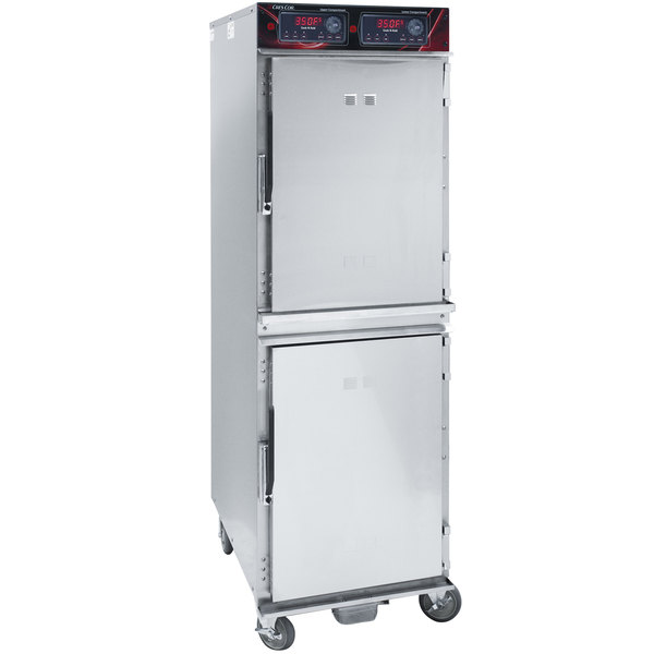 Cres Cor 1000CHAL2DE Full Height Aluminum Cook and Hold Oven with Standard Controls - 208/240V, 3 Phase, 6000/5300W Main Image 1