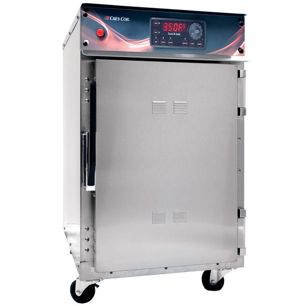 Cres Cor 500CHSSDX Undercounter Stainless Steel Cook and Hold Oven with Deluxe Controls - 208/240V, 1 Phase, 3000/2650W Main Image 1