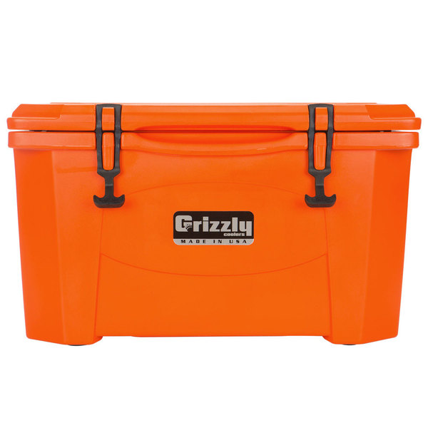 Grizzly Cooler Orange 40 Qt. Extreme Outdoor Merchandiser / Cooler
