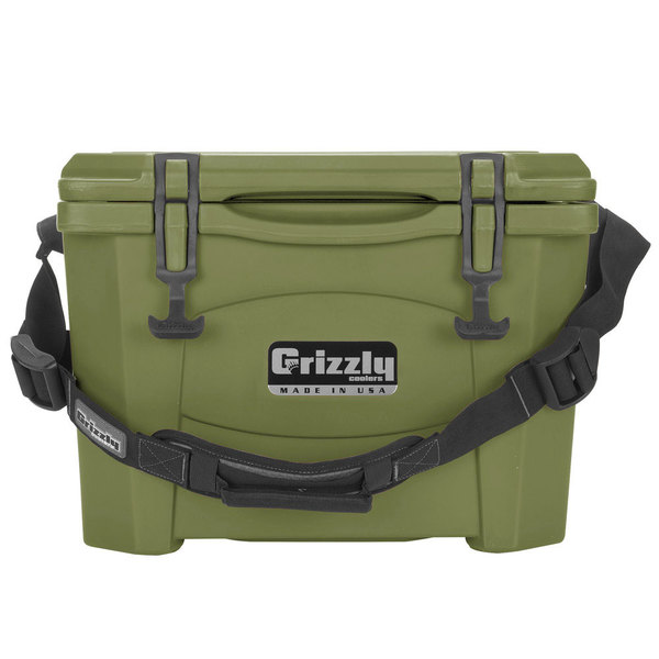 IRP Olive Green 15 Qt. Extreme Outdoor Grizzly Merchandiser / Cooler
