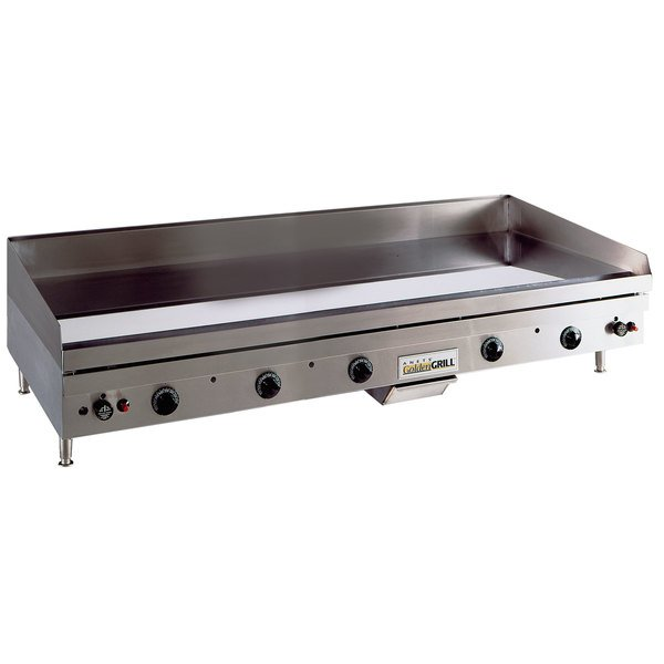 """Anets TM24X60 Temp Master 60"""" Liquid Propane Countertop Griddle with Thermostatic Controls - 137,500 BTU"""