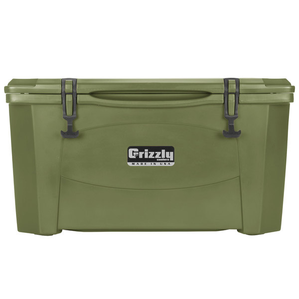 Grizzly Cooler Olive Green 60 Qt. Extreme Outdoor Merchandiser / Cooler